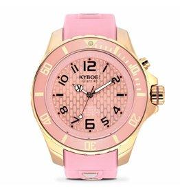 Kyboe! Horloges Kyboe ROSÉ DAWN RG-011