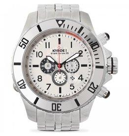 Kyboe! Horloges Kyboe METAL CHRONO STEEL BLACK SUB SBC-001
