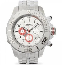 Kyboe! Horloges Kyboe METAL CHRONO STEEL RED SUB SBC-002