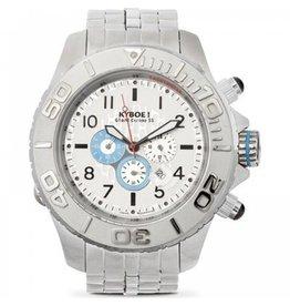 Kyboe! Horloges Kyboe METAL CHRONO STEEL BLUE SUB SBC-003