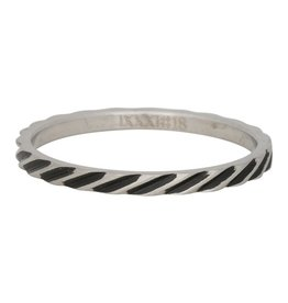 iXXXi Jewelry iXXXi Jewelry Vulring Slanting Stripes 2mm