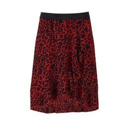 Saint Tropez Saint Tropez T8155 Leopard Printed Skirt