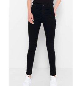 Saint Tropez Saint Tropez T5757 Stretchy High Waist jeans Black
