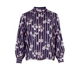 Saint Tropez Saint Tropez T1032 Floral Printed Shirt