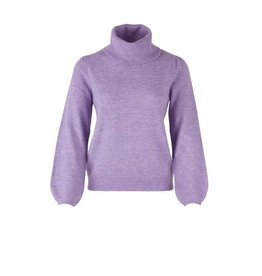 Saint Tropez Saint Tropez T2011 Cowl Neck Knit Sweater