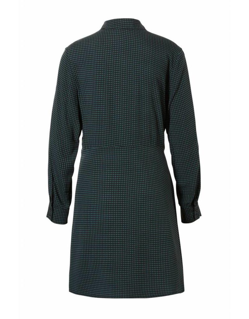 jurk met blousekraag