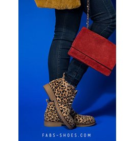 Fabs Shoes Fabs Boots Leopard