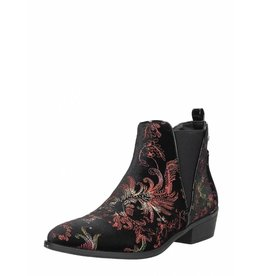 Fabs Shoes Fabs Chelsea Boots Flower