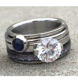 iXXXi Jewelry iXXXi Jewelry Combi Ring 143