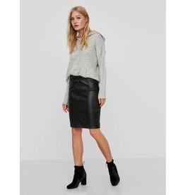 Noisy May Noisy May NMPenny PU Skirt Noos Black