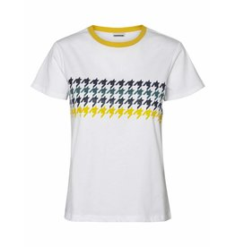 Noisy May NM Nate Houndstooth T-Shirt