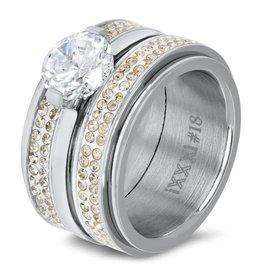 iXXXi Jewelry iXXXi JEWELRY Combi Ring 92