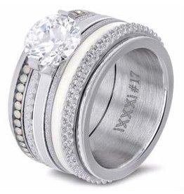 iXXXi Jewelry iXXXi JEWELRY Combi Ring 85