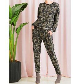 Saint Tropez Saint Tropez T5102 Camouflage Printed Pants