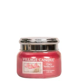Village Candle Cherry Vanilla Swirl Village Candle Geurkaars Small