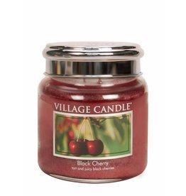 Village Candle Black Cherry Village Candle Geurkaars Medium