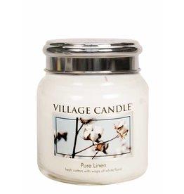 Village Candle Pure Linen Village Candle Geurkaars Medium