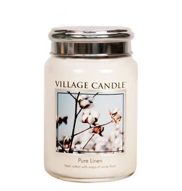 Village Candle Pure Linen Village Candle Geurkaars Large