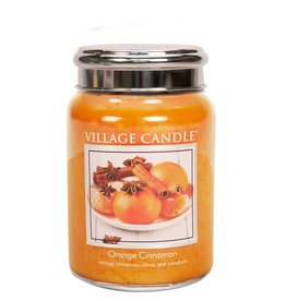 Village Candle Orange Cinnamon Village Candle Geurkaars Large