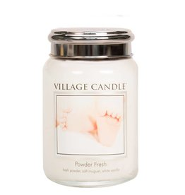 Village Candle Powder Fresh Village Candle Geurkaars Large