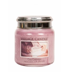 Village Candle Cozy Cashmere Village Candle Geurkaars Medium