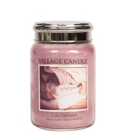 Village Candle Cozy Cashmere Village Candle Geurkaars Large