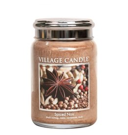 Village Candle Spiced Noir Village Candle Geurkaars Large