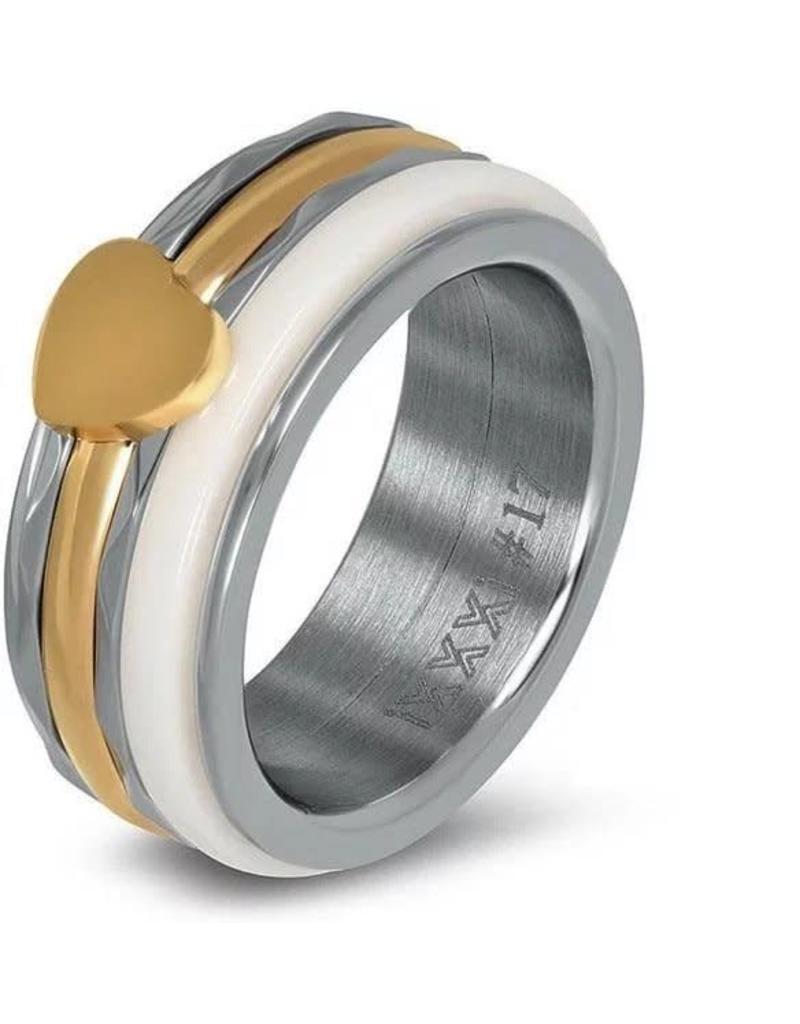 iXXXi Jewelry iXXXi JEWELRY Combi Ring 8
