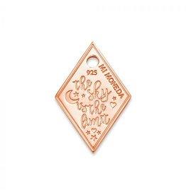 Mi Moneda MMM Sky Diamond Tag 20mm Rosé