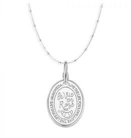 Mi Moneda Monogram MMM Oval Rose Set 925 Zilver