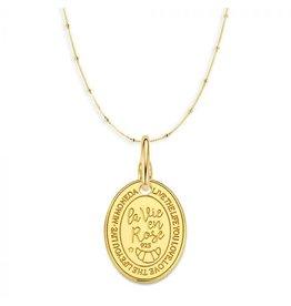Mi Moneda Monogram MMM Oval Rose Set Goudkleurig