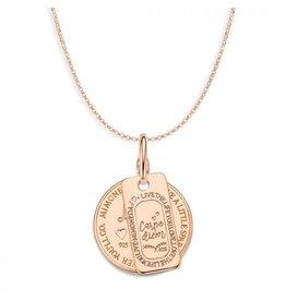 Mi Moneda Monogram MMM Love Life & Carpe Diem Set 20mm Rosé