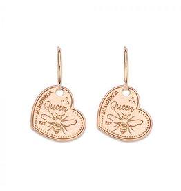 Mi Moneda Monogram MMM Earring Queen Bee Set 15mm Rosé