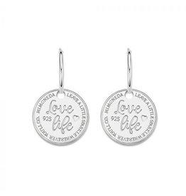 Mi Moneda Monogram MMM Earring Love Life Set 15mm 925 Zilver