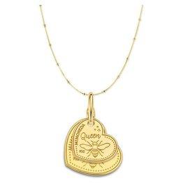 Mi Moneda Monogram MMM Queen Necklace Set Goudkleurig