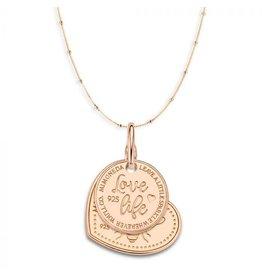 Mi Moneda Monogram MMM Queen Love Necklace Set Rosé