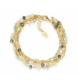 Amen Amen Bracelet Crystals Green BRGVE