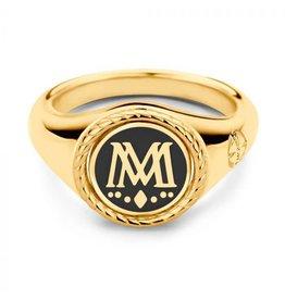 Mi Moneda Vintage MMV Uptown Ring Goudkleurig