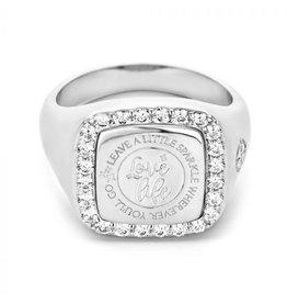 Mi Moneda MMV Empire Ring 925 Zilver