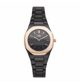 iKKi Horloges Ikki YR05 Black / Rose gold