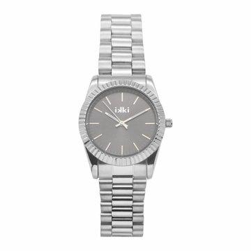 iKKi Horloges Ikki BX10 Silver/ Grey