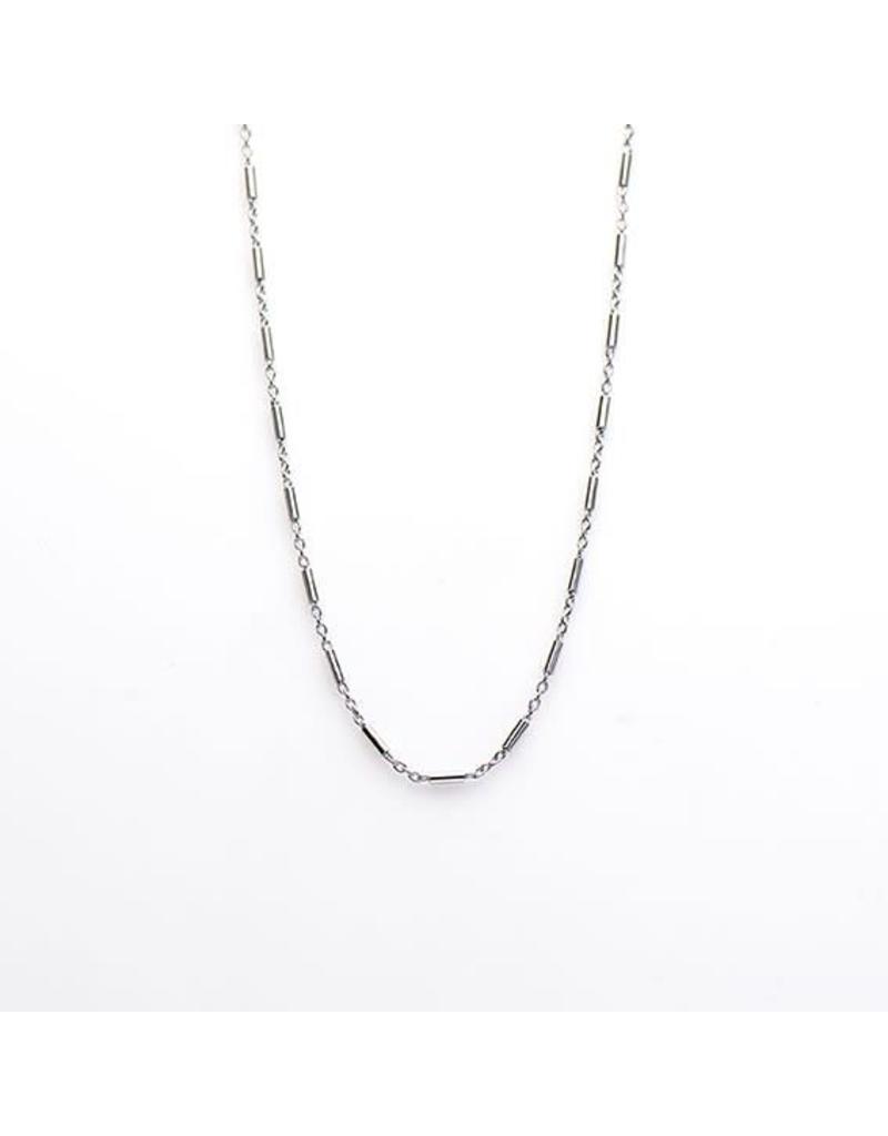 Karma Karma Necklace Tubes 38-45 cm Zilver