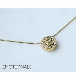 Imotionals Imotionals Hanger Crystal Letter E