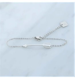 Zag Bijoux Zag bijoux Bracelet Arrow Zilverkleurig
