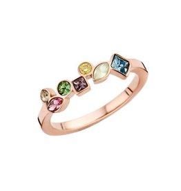 Melano Melano Friends Mosaic Ring Hue Rosé