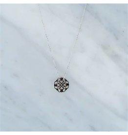 Zag Bijoux Zag Bijoux Necklace Filigrana Zilverkleurig