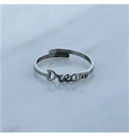 Zag Bijoux Zag Bijoux Ring Dream Zilverkleurig