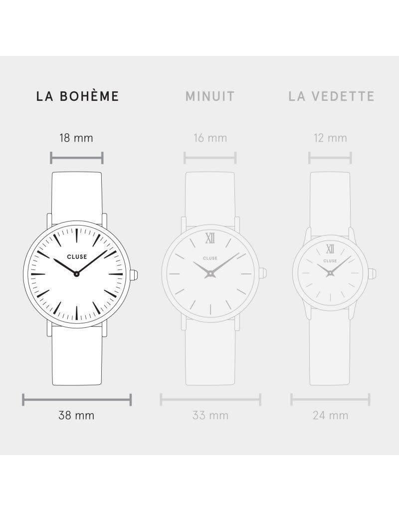 Cluse Watches Cluse La Bohème Rose Gold White/Pink