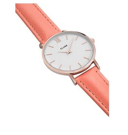 Cluse Watches Cluse Minuit Rose Gold White/Flamingo