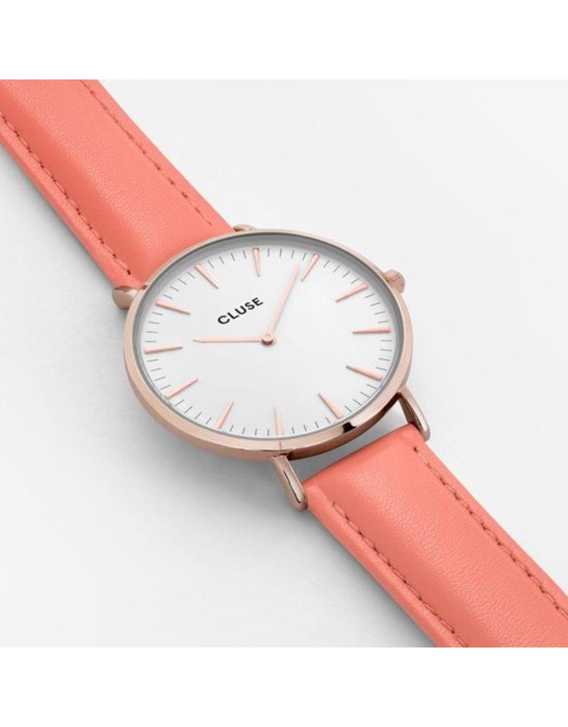 Cluse Watches Cluse Bohème Rose Gold White/Flamingo